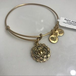 Alex and Ani Lotus Bracelet - NWT